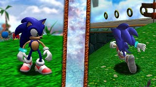 Sonic Dreamcast Game Protos Presented — Totoku