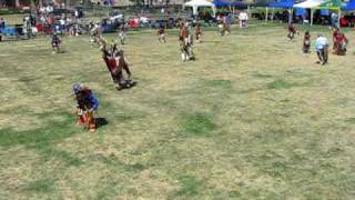 Wild Horse Powwow 2009: Jr Boys Traditional, Sneak-up