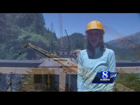 Big Sur Pfeiffer Canyon Bridge construction update