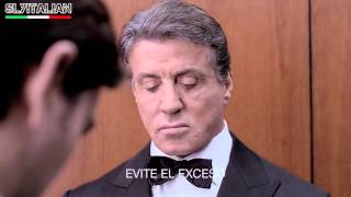 Sylvester Stallone - Tecate Box - Ascensore - Sub ITA