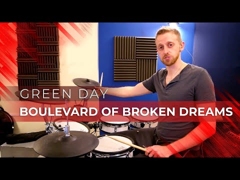 Drum Lesson - Boulevard Of Broken Dreams by Green Day