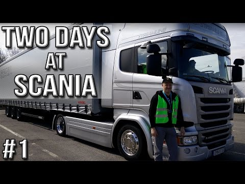 Thumbnail: Two Days at Scania (Part #1)