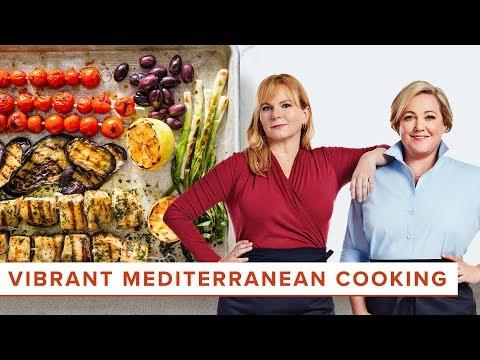 How To Make Mediterranean Favorites Like Swordfish Skewers And Egyptian Barley Salad