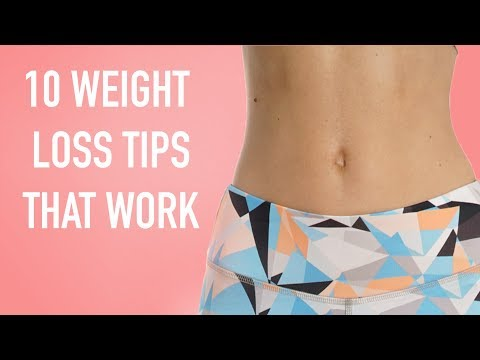 10 Diet Tips How to LOSE WEIGHT and KEEP IT OFF Psychological tricks for fat loss | PEACHY