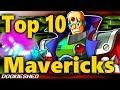 Top 10 MegaMan MAVERICKS!
