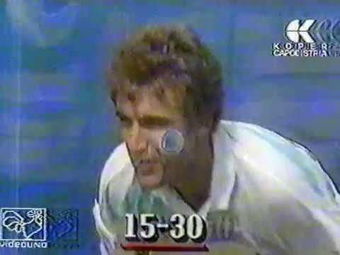 Mats Wilander vs. Darren Cahill US Open 1988 semifinal