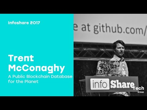 Trent McConaghy (BigchainDB, IPDB): A Public Blockchain Database for the Planet / infoShare 2017