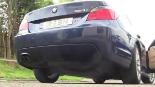 BMW E60 523i Startup Sound And Revs