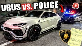 Download Pulled Over By LA COPS In 3 Lamborghini Uruses! Mp3 and Videos