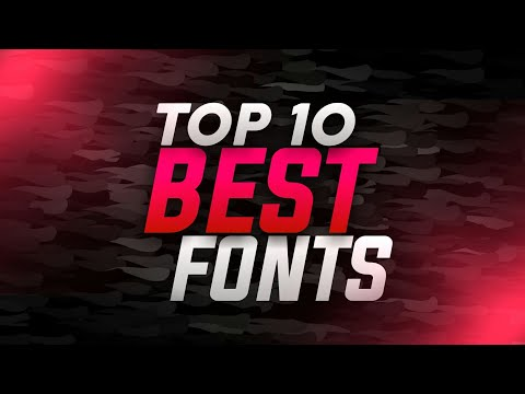 Top 10 Best Free Fonts | Install Fonts On PixelLab