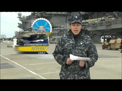 USS Dwight D. Eisenhower to Return Early from Deployment; Africa Partnership 2012 Wraps Up