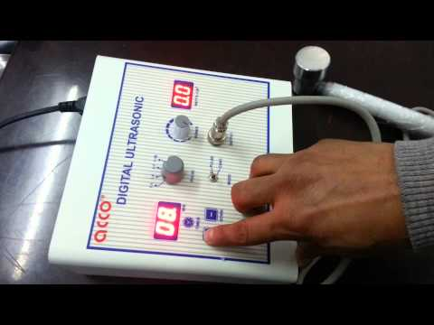 AMP-03US11 Physical Therapy Ultrasound Therapy Unit (1mhz)