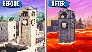 FORTNITE SEASON 9 LEAKED! TILTED TOWERS OFFICALLY DESTROYED! (SEASON 9 GAMEPLAY LEAKED)