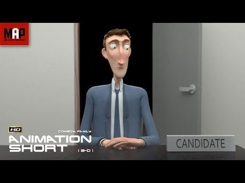 "CGI 3D Animated Short Film ""INTERVIEW""- Funny Animation by The Animation Workshop"