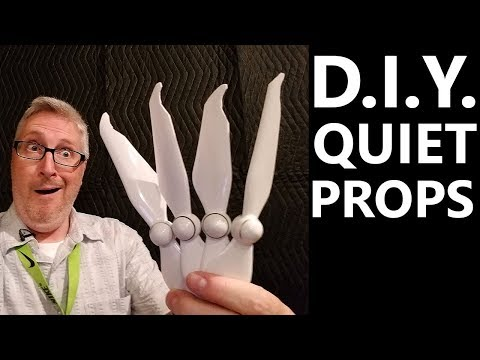 Do HOMEMADE quiet Propellers work? - KEN HERON - Phantom 4 Pro