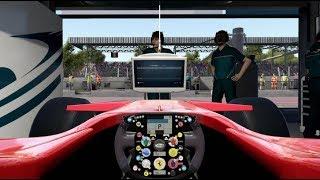 F1 2017 Classic Car Racing League Practice Round 3   Ferrari F2007 at Italy