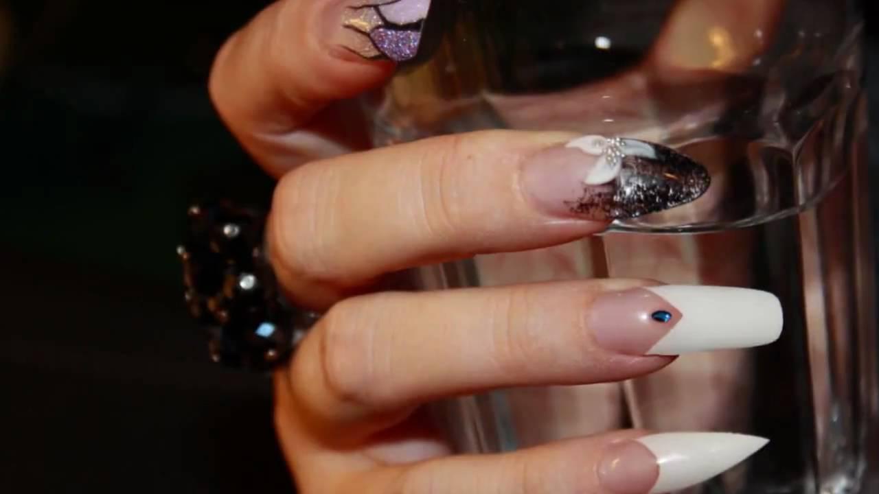 Ricostruzione Unghie In Acrilico Con Nail Art Www Oligenesi It