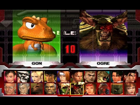 How To Unlock All Characters In Tekken 3 Pc Edition Game Youtube