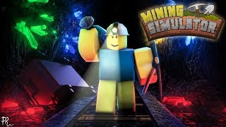 Roblox Mining Simulator | 600+ Rebirth | New Mythical Pet and Skins Update | Crate Giveaway