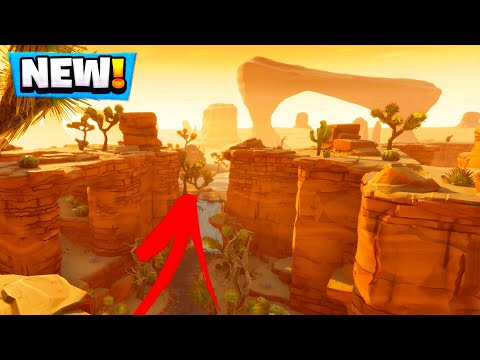 NEW Desert MAP Leak ! (Fortnite Battle Royale)