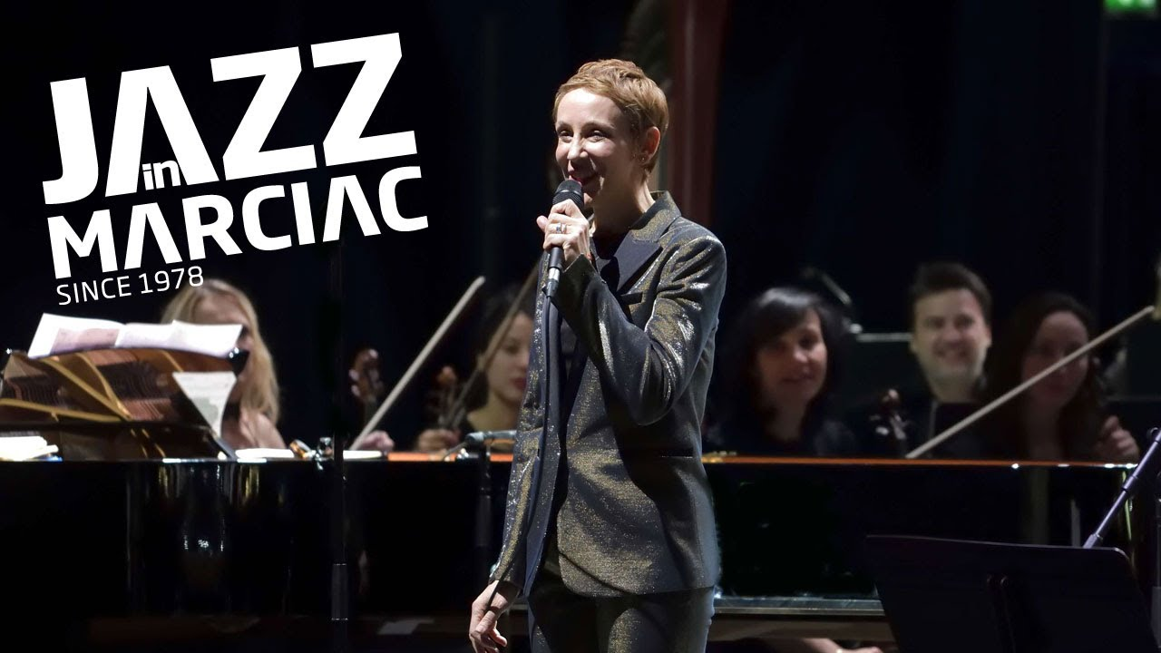 "Stacey Kent Avec l'Orchestre du CRR de Toulouse ""To Say Goodbye"" @Jazz_in_Marciac 2018"