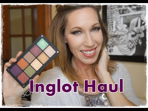 Inglot Haul with Swatches