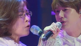 Kyuhyun, had a dream stage with his idol Lee Sun Hee