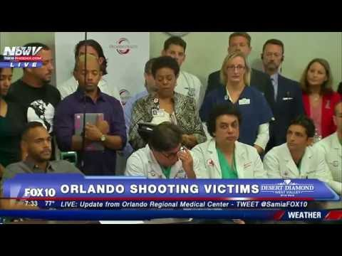 FNN: Orlando Shooting Victims Update - Doctors, Victim Speaks Out - FULL PRESS CONFERENCE