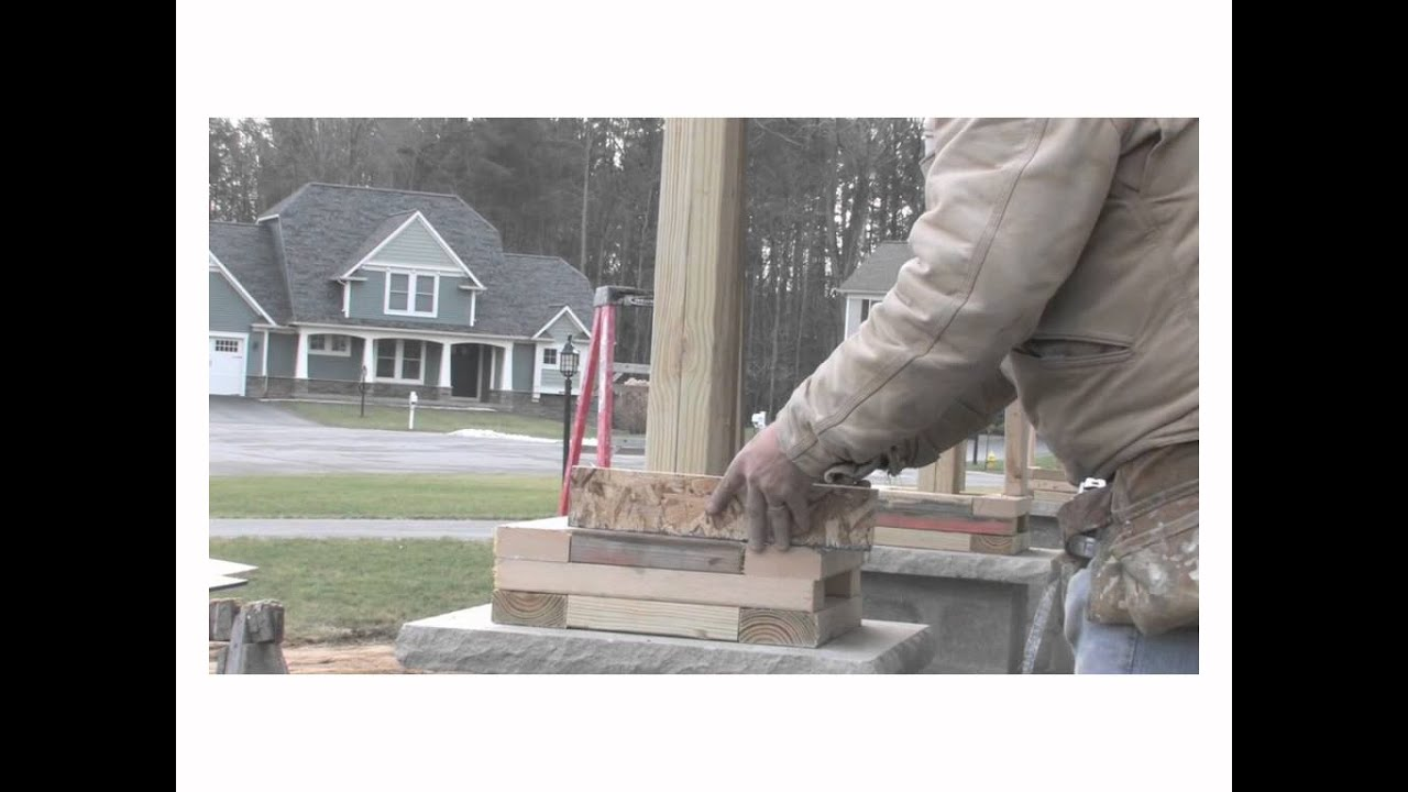 Barone sons creating craftsman columns youtube solutioingenieria Choice Image
