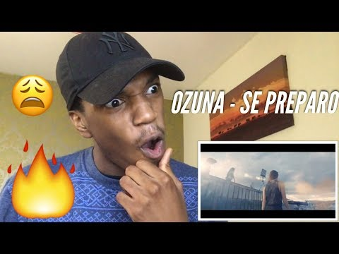 Ozuna - Se Preparó ( Video Oficial ) | Odisea REACTION