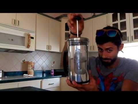 How To: Puerto Rico Coffee French Press
