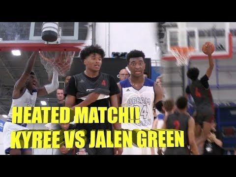 MUST WATCH #1 Jalen Green VS #3 Kyree Walker Epic Battle!!