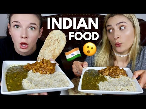 Trying Indian Food FOR THE FIRST TIME!! (Mukbang Monday)