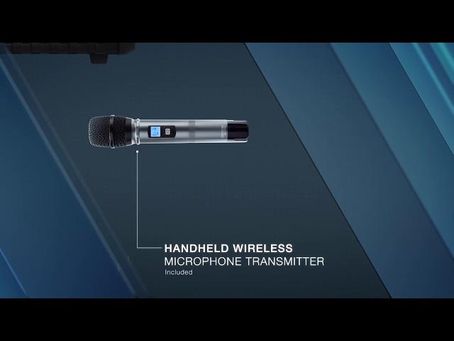Denon Professional Commander Sport Water Resistant Portable Speaker