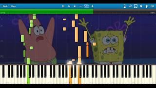 Spongebob Squarepants: Grass Skirt Chase MIDI