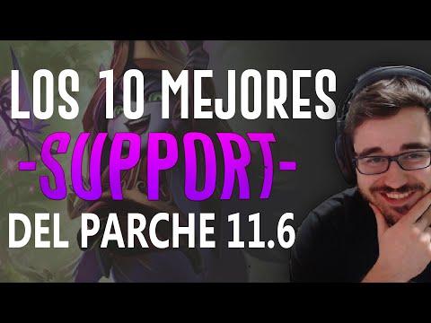 10 MEJORES CAMPEONES SUPPORT S11 | PARCHE 11.6 – PICKS MÁS ROTOS | Tier List S+ | GUÍA SUBIR ELO