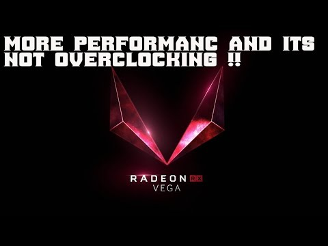 Undervolt Your RX Vega 56 And 64 15% More Fps For Less Power !!