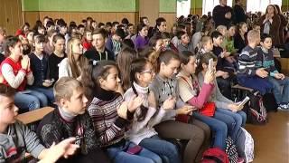 Урок истории под звуки бандуры - в школе Харькова