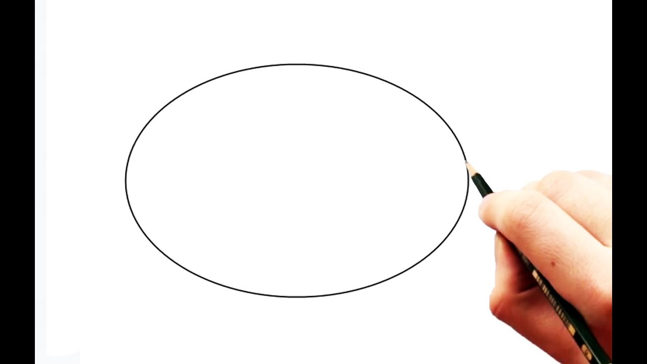 How to draw a perfect egg shape ellipse with 3 pencils youtube pooptronica