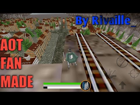 Attack On Titan Android Fan Made Game By Rivaille (GamePlay)
