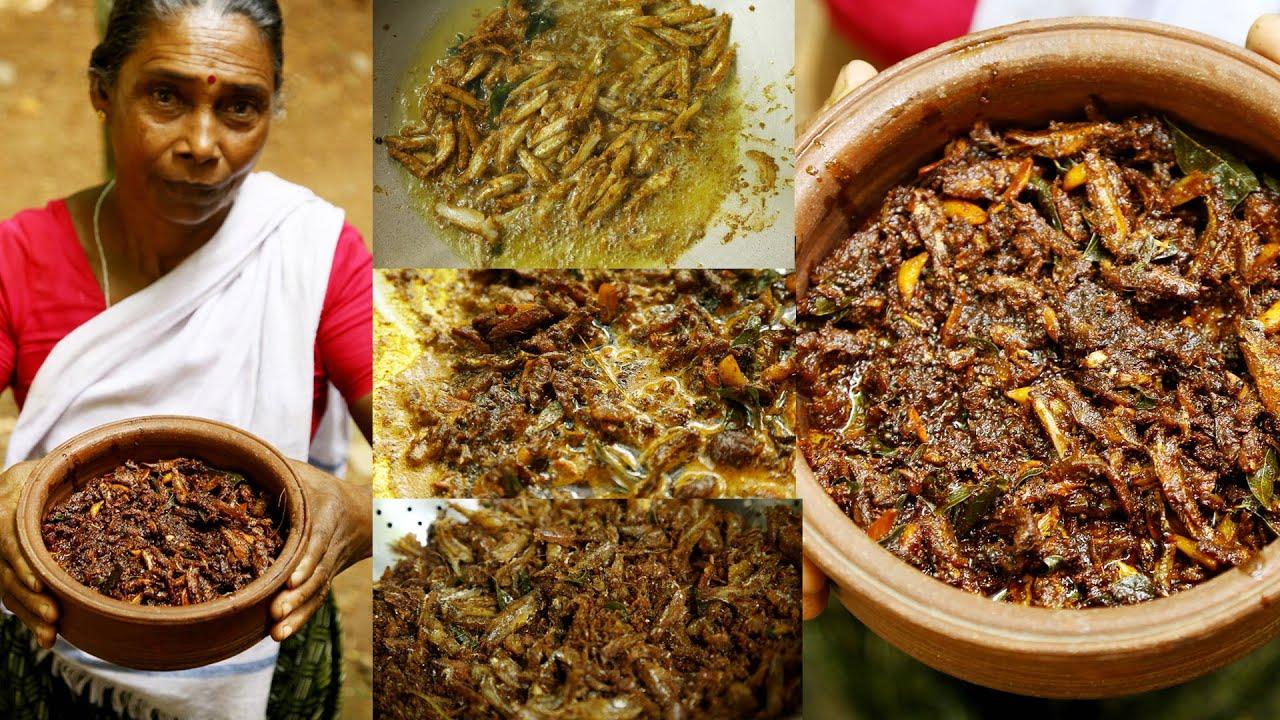 നല്ല നാടൻ നെത്തോലി അച്ചാർ   Kerala Style Anchovy Fish Pickle