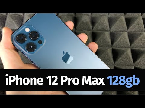 iPhone 12 Pro Max - Pacific Blue | 128gb | Unboxing