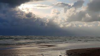 #АНАПА - ШТОРМ В Прямом Эфире купание в стригах На Закате 15.09.2018