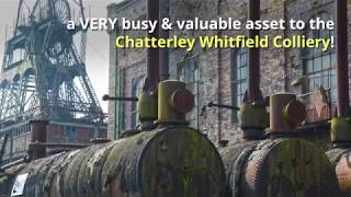 Chatterley Whitfield Colliery - Hesketh Headgear