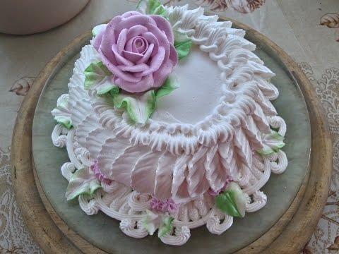 Недорогой рецепт украшение тортов (торт Милашка) , cake decoration (Cutie cake)