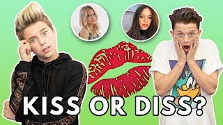 KISS or DISS Challenge **TRUTH EXPOSED** | Gavin Magnus ft. Jacob Sartorius