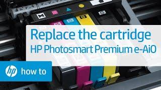 Replacing a Cartridge - HP Photosmart Premium e-All-in-One Printer (C310a)(, 2011-10-14T19:19:21.000Z)