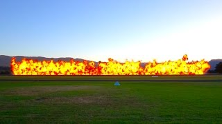 CAC CA-27 Mk 32 Sabre and the Wall of Fire - Wings Over Illawarra 2017