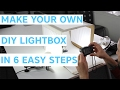 How To Make a Photo Lightbox With A Shapeways Box!