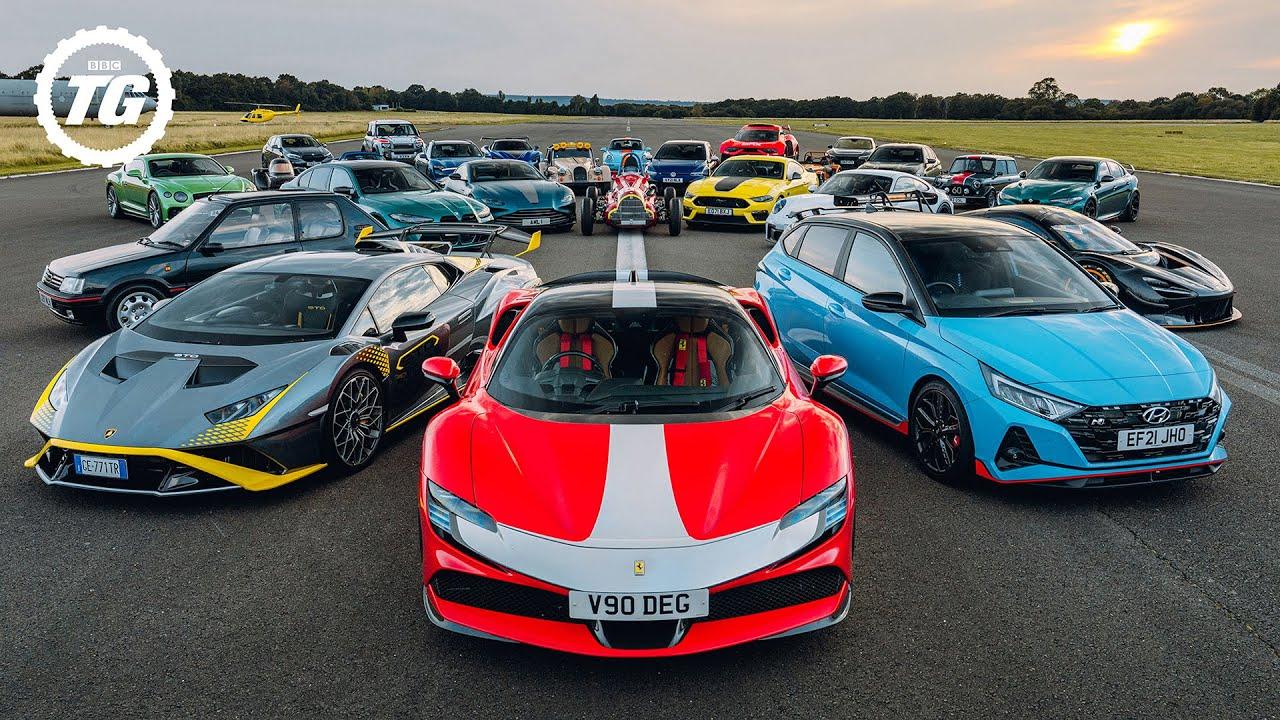 Chris Harris vs 2021's Best Performance Cars | Top Gear Magazine Speed Week | Top Gear